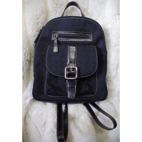 Nine West Handbags - Nine West Buckle Logo Mini Backpack